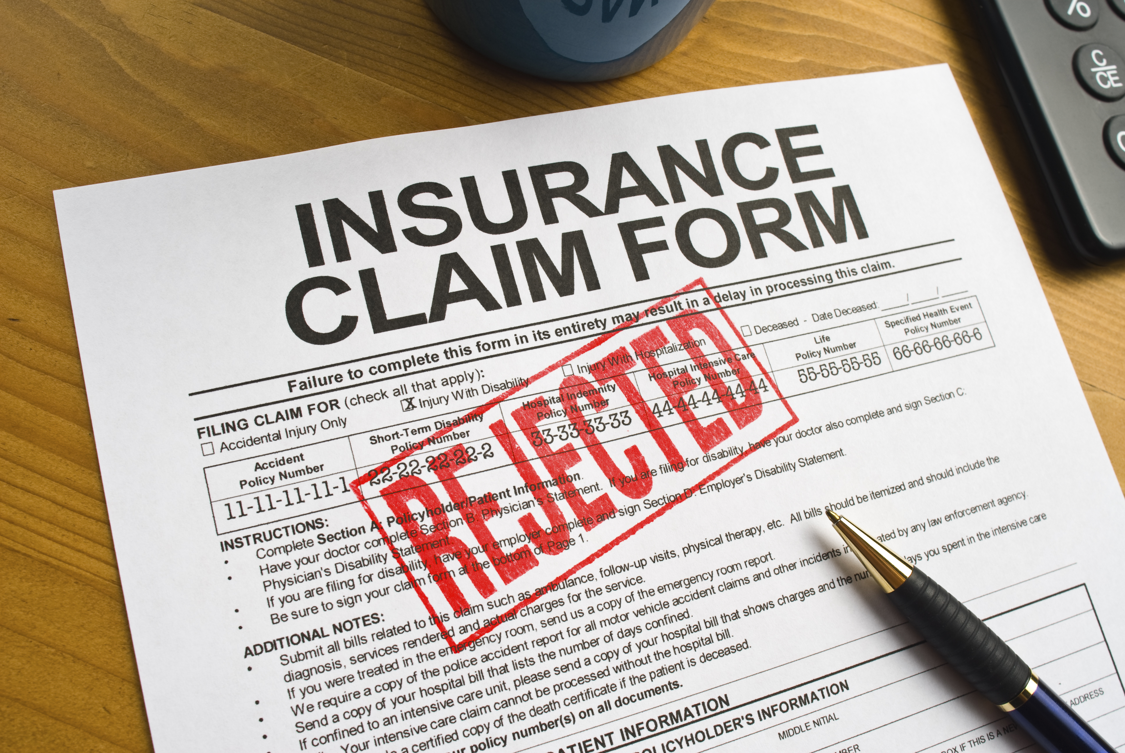 iStock - Rejected Insurance Claim 7-6-15 (3Credit)